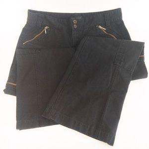 Banana Republic Wide Leg Flare Pants Womens 12